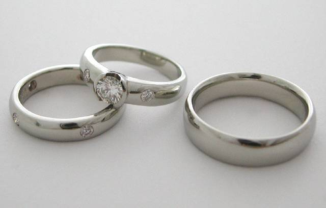 diamond ring set
